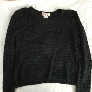 So small cropped sweater